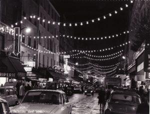 Paris, Rue du faubourg Saint Denis, années 60