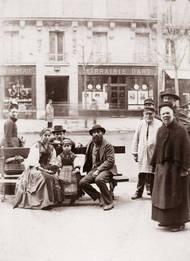 Famille napolitaine Boulevard Saint Germain Paris 1880 © Galerie Lumières des Roses