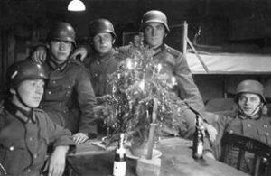 Seconde Guerre Mondiale, Noël au front