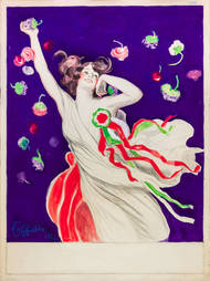 Fête de bienfaisance organisée par la Société italienne de Bienfaisance de Paris le 3 mai 1924. Leonetto Cappiello © Pierre Cappiello