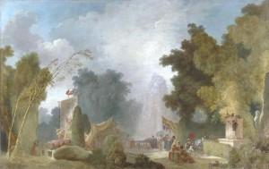 Jean-Honoré Fragonard - La Fête à Saint-Cloud (c. 1775-1780) © RMN-Grand Palais / Gérard Blot