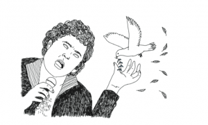 David et la colombe