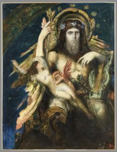 Gustave Moreau, Jupiter et Sémélé. Variante, huile sur toile, H. 149 ; L. 110 cm, Paris, musée Gustave Moreau, Cat. 73. © RMN-Grand Palais/Philippe Fuzeau
