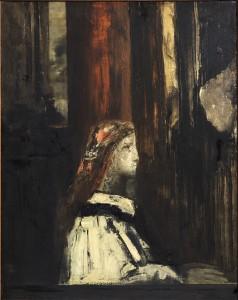 Gustave Moreau, Sainte Cécile, huile sur toile, H. 86 ; L. 68 cm, Paris, musée Gustave Moreau, Inv. 13972. © RMN-Grand Palais/Philippe Fuzeau