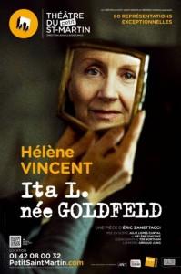 Ita L née Goldfeld affiche