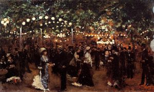 Le bal Mabille, Jean Béraud