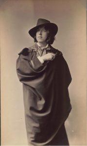 Photo : Napoleon Sarony, Portrait d'Oscar Wilde<span class=