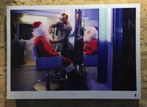Photo : Florence Levillain, Il se fait beau, décembre 2016, Exposition « Des nouvelles du père Noël », Bercy Village.