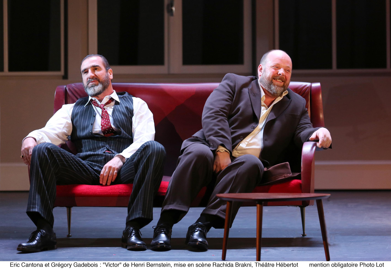 Victor - Eric Cantona & Grégory Gadebois
