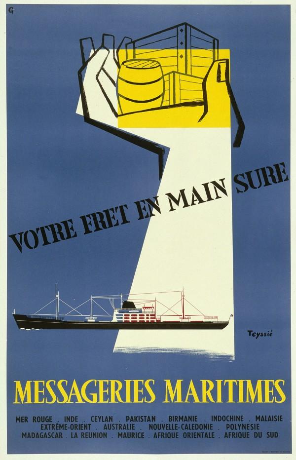 affiche maritime