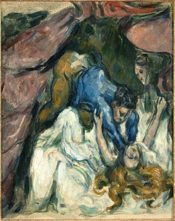 Paul Cézanne, La Femme étranglée, 1875-1876, Huile sur toile, 31 × 25 cm. © Musée D'Orsay (RMN-GP/Patrice Schmidt)