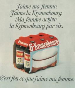 Publicité Kronenbourg
