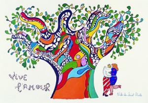 """Affiche """"Vive l'amour"""", 1990"""